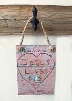 Jesus Loves Me - Ropes