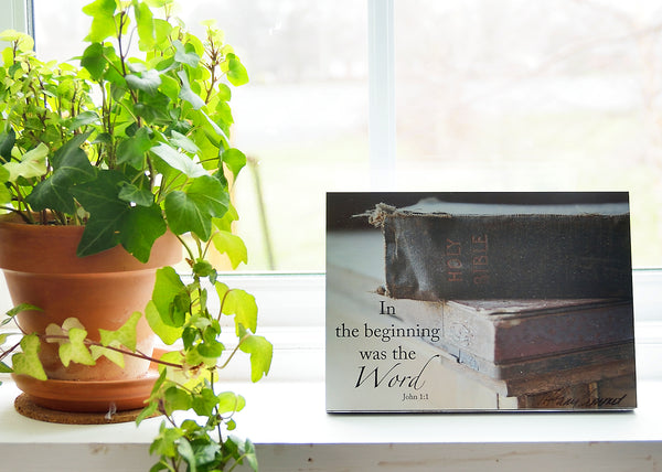 The Word - Bible - Ready to Hang Plaque