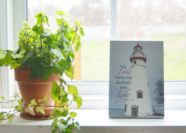Marblehead Lighthouse - Ready to Hang Plaque