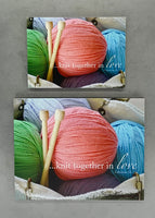 Knitting - Magnet and Deluxe Magnet