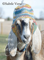 Maggie - Goat with Hat-Prints