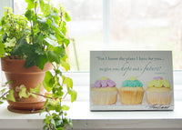 Cupcakes - Ready to Hang Plaques