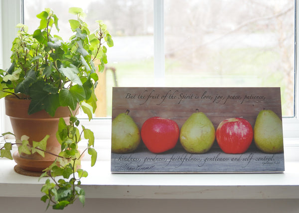 Fruit of the Spirit - Ready to Hang Plaque