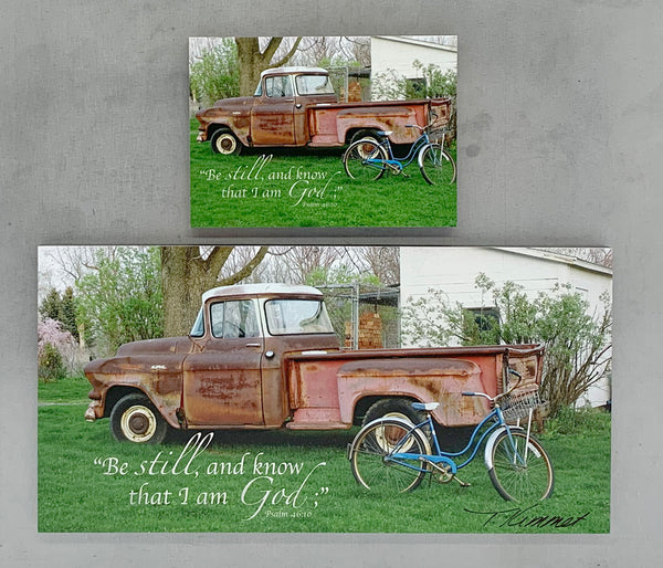 Father's Truck - Magnet and Deluxe Magnet