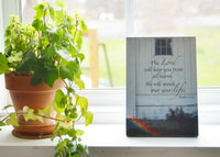 God's Promise - Ready to Hang Plaque