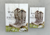 Walk by Faith - Magnet and Deluxe Magnet