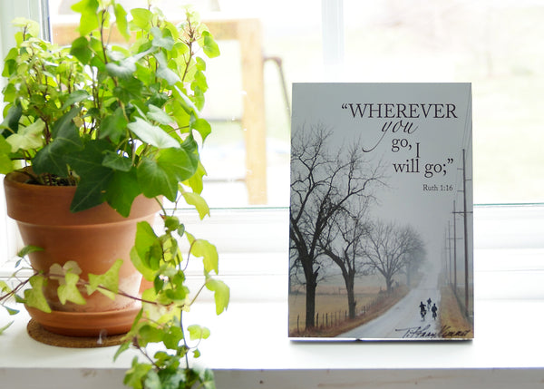 Wherever - Ready to Hang Plaque