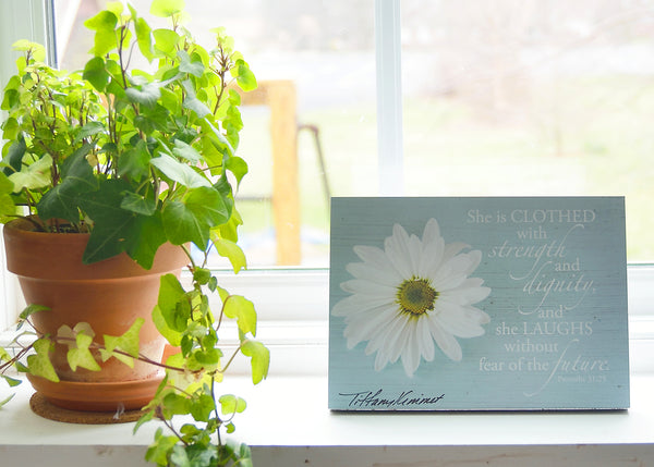 Daisy - Ready to Hang Plaque