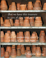 Clay Pots - Ready to Hang Plaques