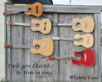Praise Guitars - Ready to Hang Plaque