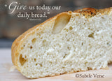Daily Bread - Ready to Hang Plaque