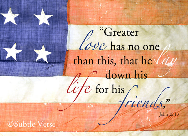 No Greater Love - Prints