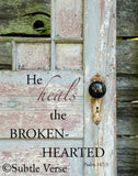 Brokenhearted - Ready to Hang Plaque