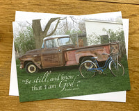 Father's Truck - Notecard
