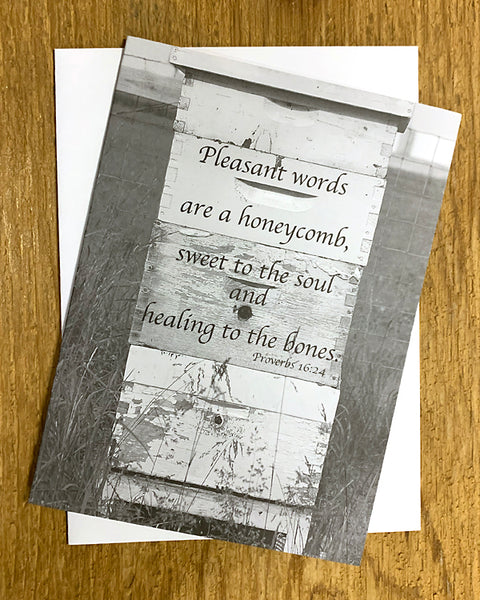 Honey for the Soul - Notecard