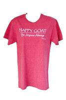 Close Out - Happy Goat Tee - Red Heather