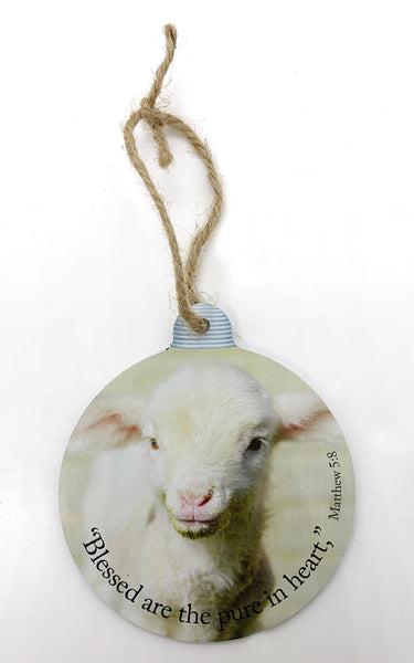 William the Lamb Ornament