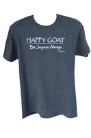 Close Out - Happy Goat Tee - Black Heather