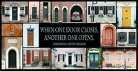 Doors of Charleston - Ready to Hang Plaque