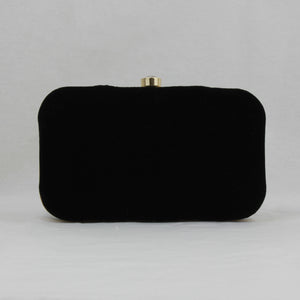 black clutch bag for indian wedding