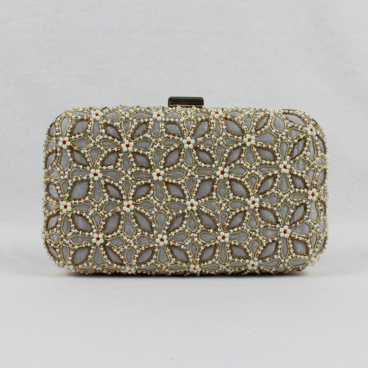 embroidered clutch, indian accessories