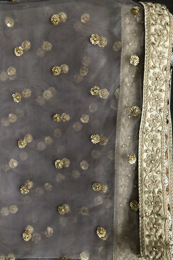 heavy embroidered dupatta