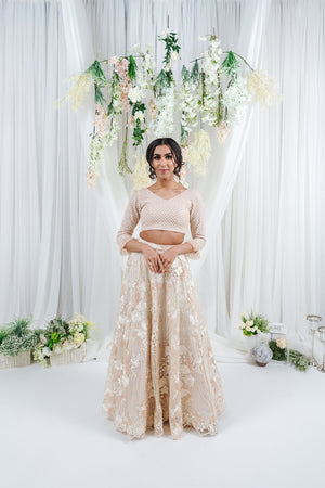 long sleeve top for indian wedding