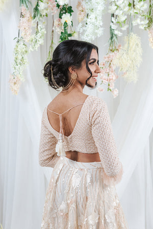 modern top for indian wedding