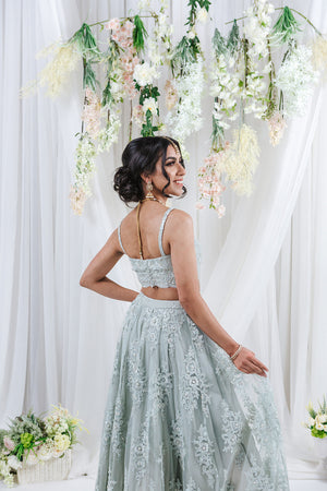 engagement lehenga for indian wedding