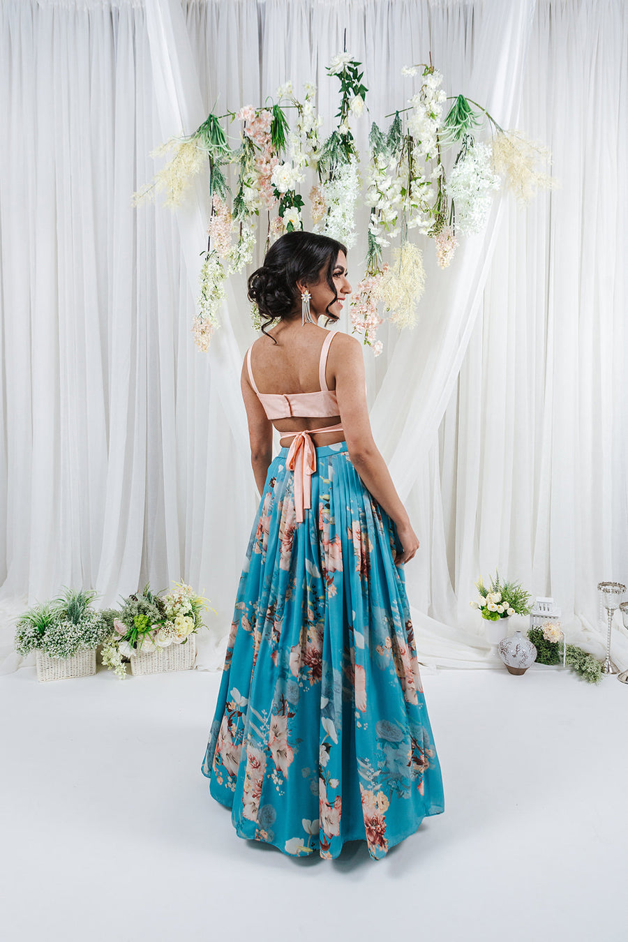 tulle skirt for indian wedding