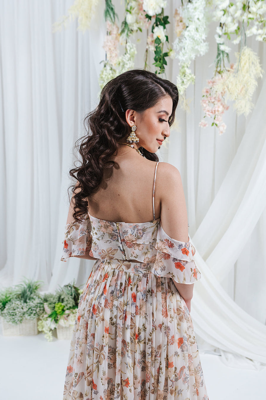 bralette top indian wedding outfit