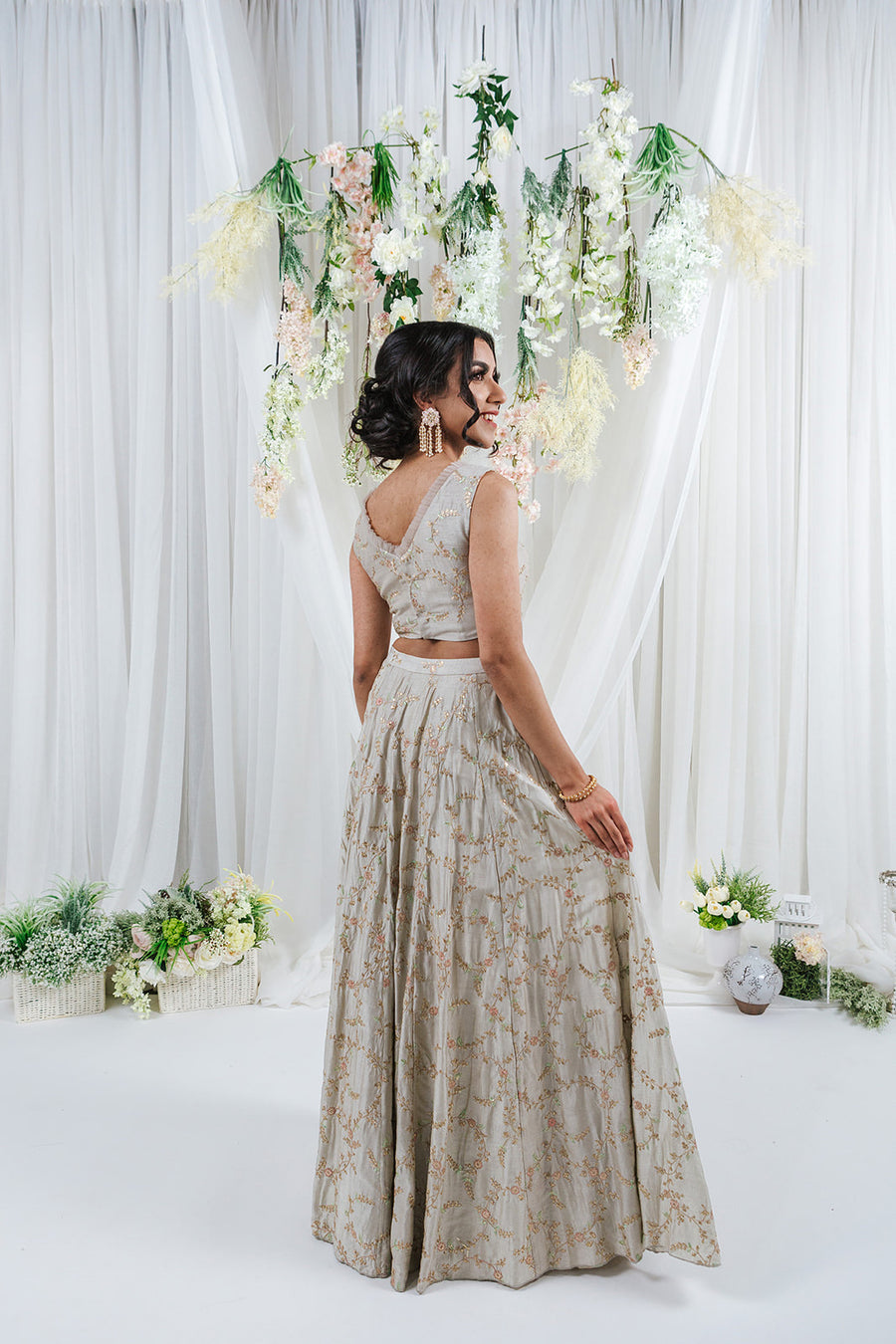 pastel lehenga for indian wedding