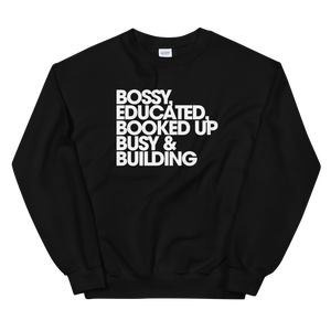 Bossy & Booked Up Sweatshirt