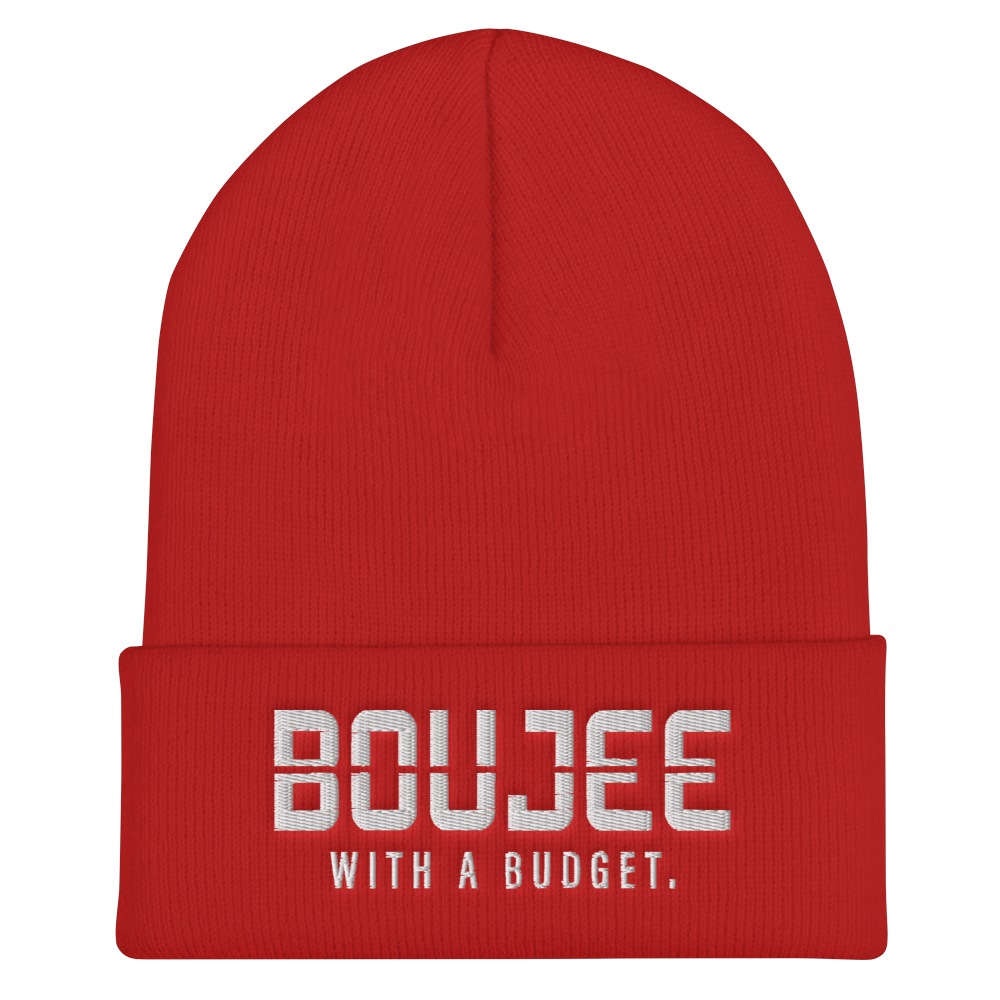 Boujee With A Budget Beanie