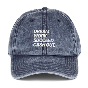 "Embroidered ""Cash Out"" Dad Hat"