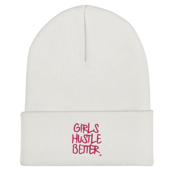 Girls Hustle Better Beanie