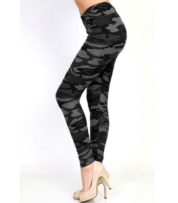 Camo Queen Leggings