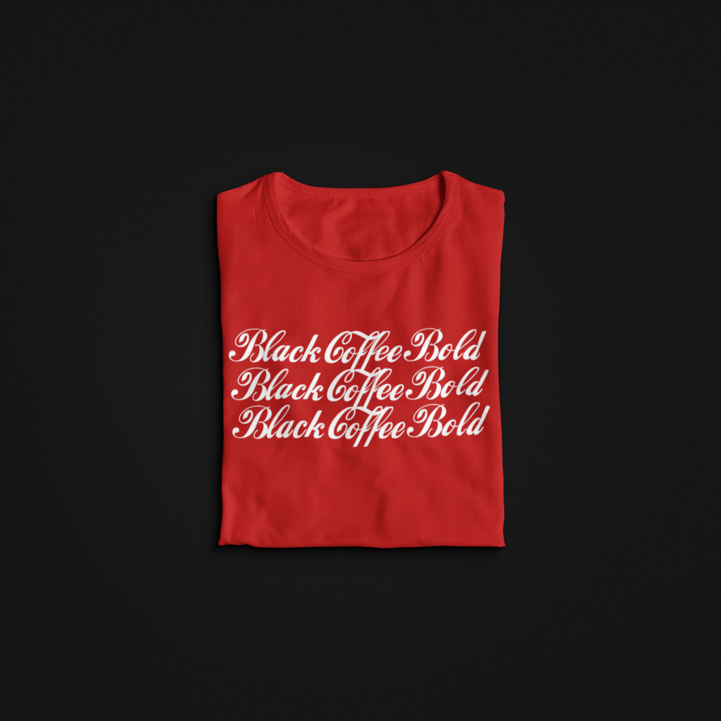 Black Coffee Bold Tee
