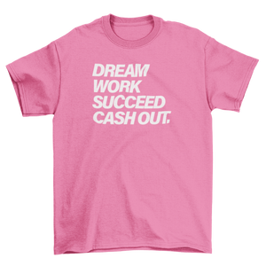 Unisex Cash Out Tee