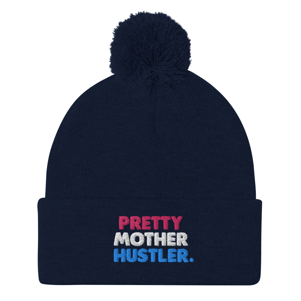 Pretty Mother Hustler Pom Pom Cap