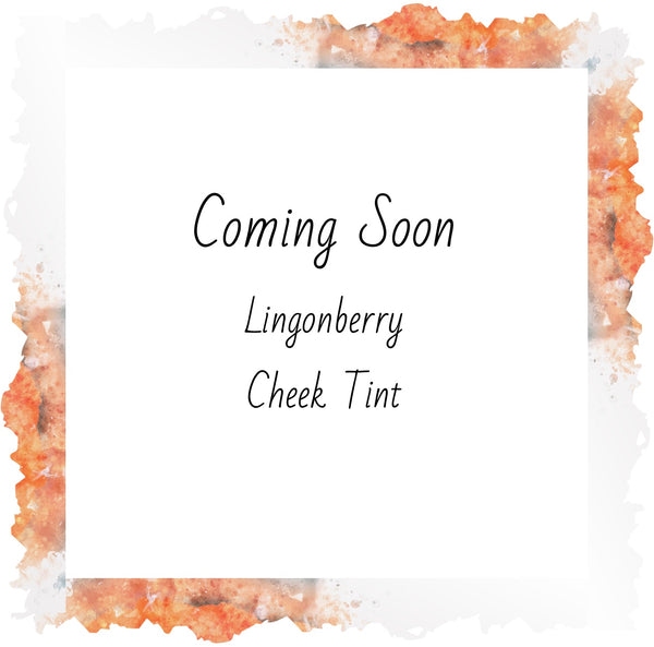 Lingonberry Cheek Tint + CBD Support