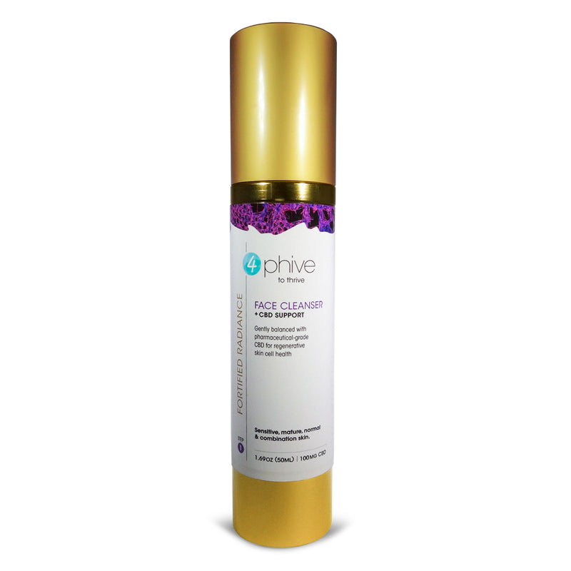 Fortified Radiance<br/>Soothing Face Cleanser <span>+ CBD Support (Step 1)</span>
