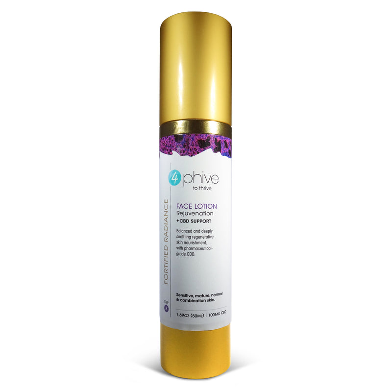 Fortified Radiance<br/> Rejuvenate Face Lotion <span>+ CBD Support (Step 5)</span>