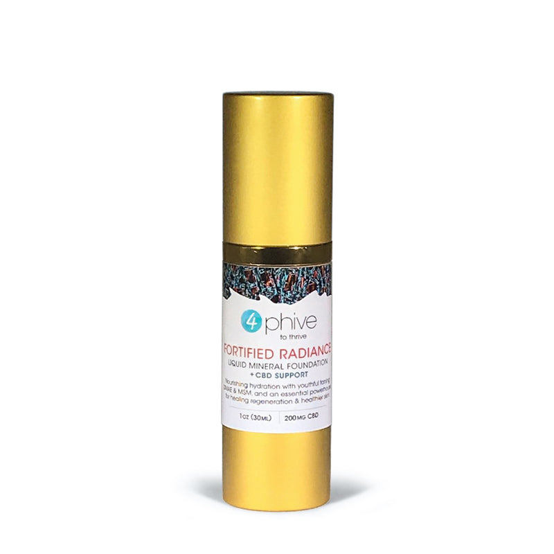 Fortified Radiance<br/>Healing Foundation<span> + CBD Support</span>