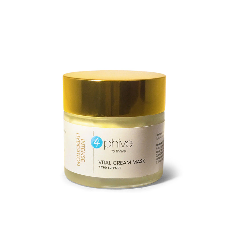 Vital Cream Mask<br/>Intense Hydration<span>+ CBD Support</span>