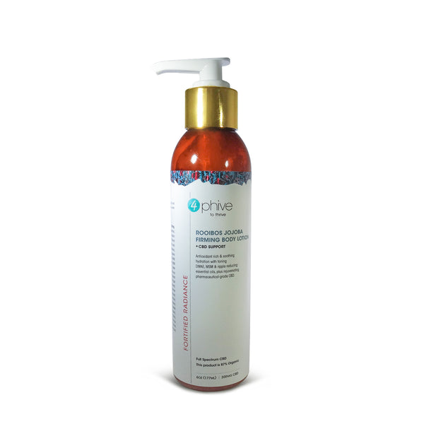 Rooibos Jojoba <br/>Firming Body Lotion<span>+ CBD Support</span>