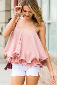Ruffled in Pink