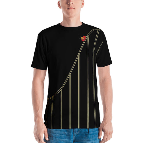 The Bitcoin Roller Coaster T - Black
