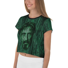 Load image into Gallery viewer, The McAfee Matrix Crop Top