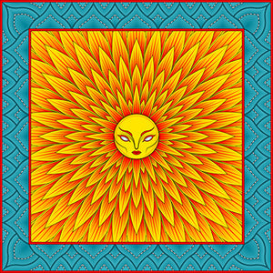 Sun Geometry Fine Art Print by Jeremy Wright